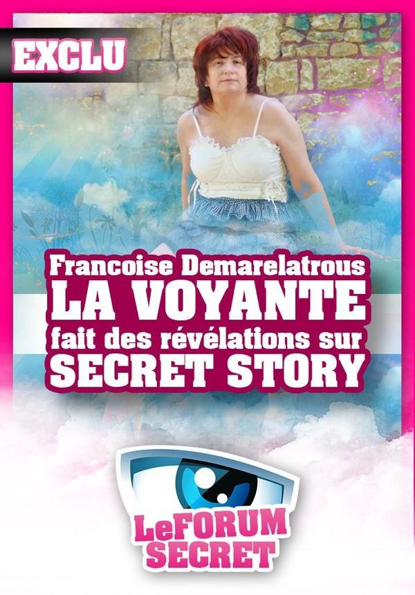 EXCLU : La voyante Francoise Demarelatrous a des révélations à nous faire sur Secret Story 7 !