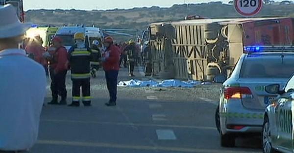 Portugal: trois morts dans un accident d'autocar