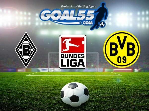 Prediksi Skor Borussia Mgladbach VS Borussia Dortmund 19 Februari 2018