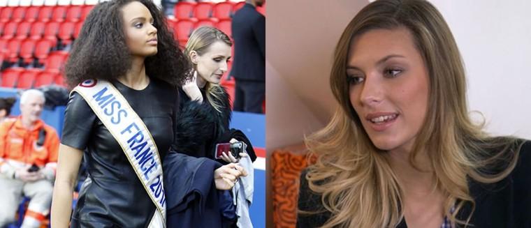 """Camille Cerf à propos de Miss France 2017 : """"Niveau look, c'était pas gagné"""" (VIDEO)"""