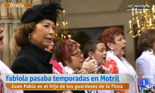 Une Salve Rociera pour l'amour qu'à donné la Reine Fabiola à l'Espagne