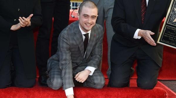 Daniel Radcliffe inaugure son étoile à Hollywood