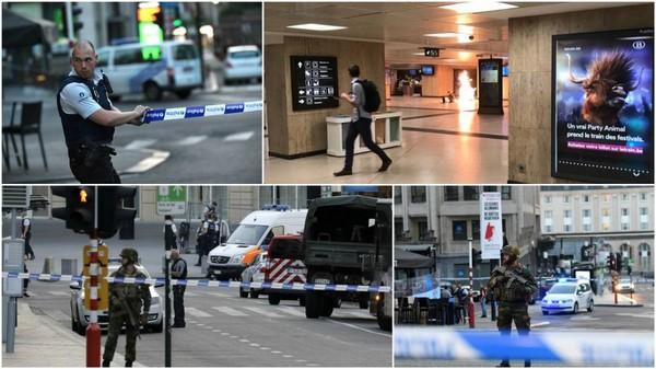 Explosion à la gare centrale de Bruxelles, l'auteur neutralisé, le quartier bouclé (suivez notre direct)