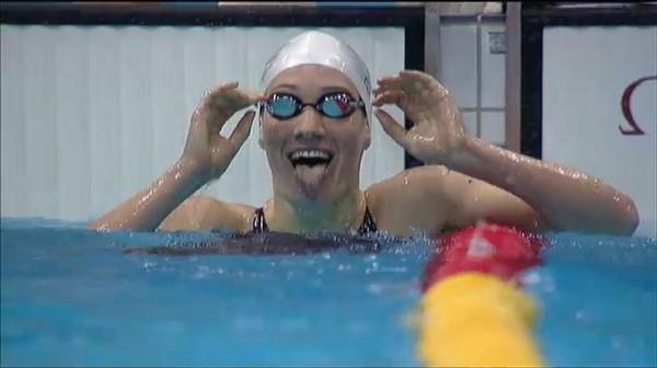 Camille Muffat : un 400 m nage libre en or