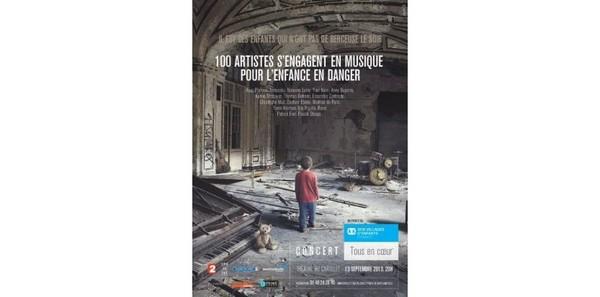 Des stars de la scène française dans un concert pour soutenir l'enfance démunie