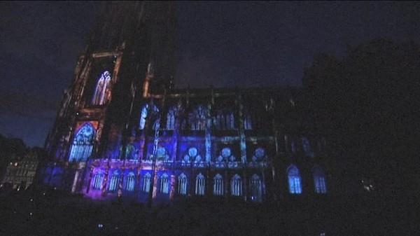 La lumière intemporelle de la cathédrale de Strasbourg - France 3 Alsace