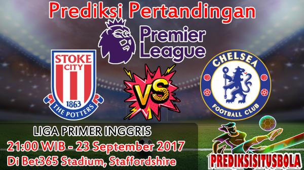 Prediksi Stoke City VS Chelsea 23 September 2017