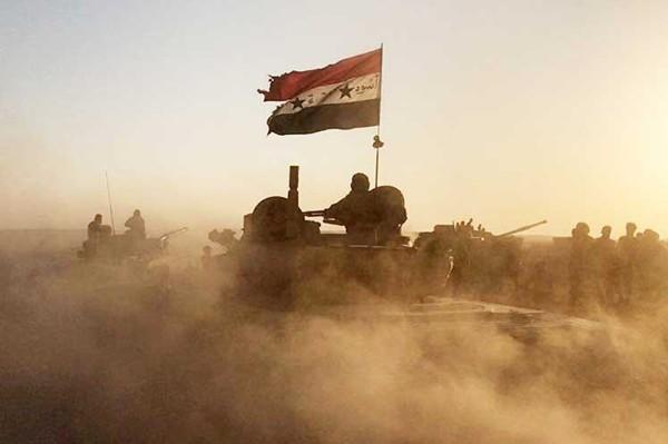 Ejército sirio combate a terroristas en altos delGolán