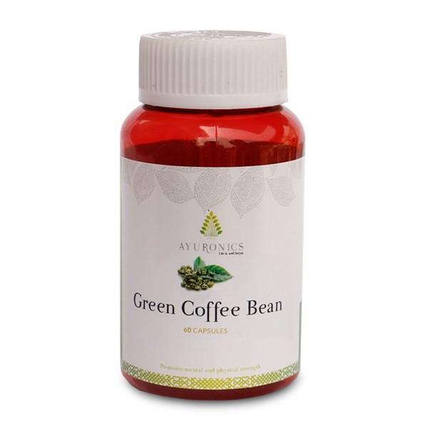 Green Coffee Bean Capsules - Green Coffee Bean- Ayuronics