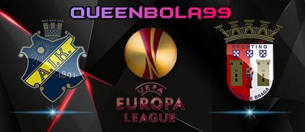 Prediksi AIK Solna vs Sporting Braga 28 Juli 2017