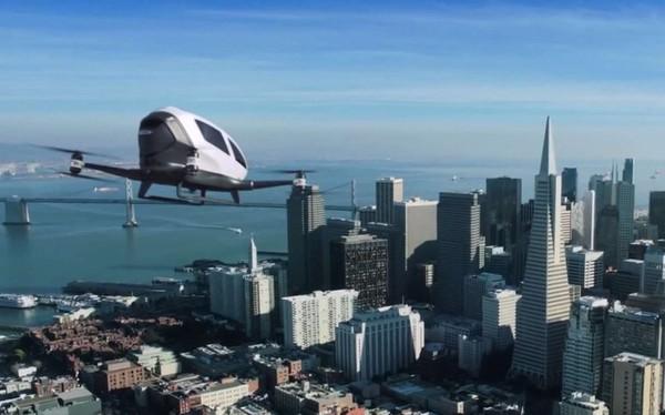 Uber s'allie à la Nasa pour ses drones taxis