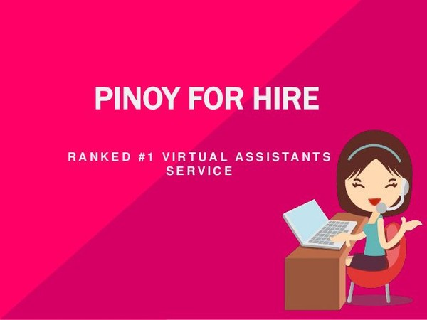 Ranked #1 Virtual Assistants Service Pinoy For Hire is the ideal outsourcing solution for your business. Hire your dedicated full time employee today.
