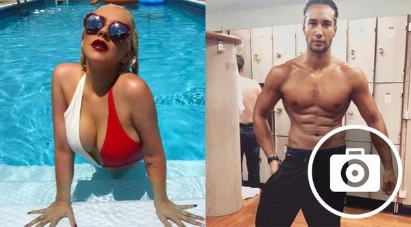 Christina Aguilera ultra-sexy à la piscine, Laurent Maistret montre ses abdos sur Instagram (29 PHOTOS)