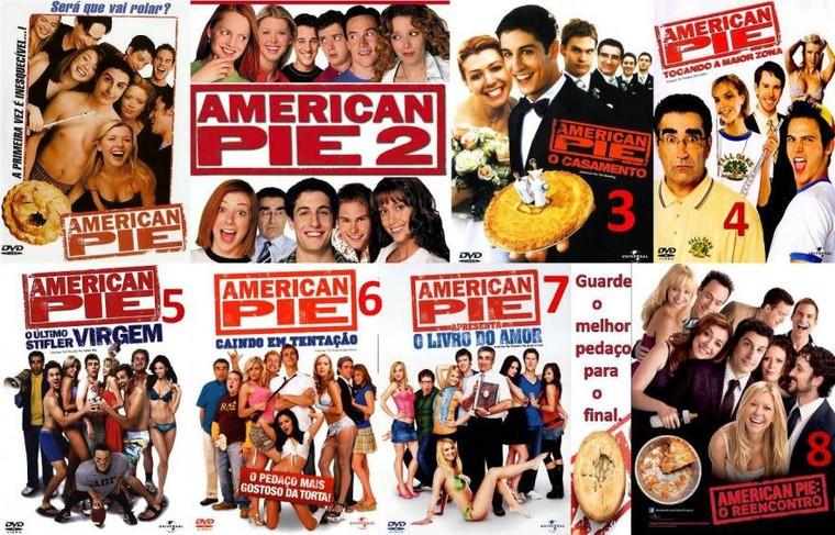 American Pie 1, 2, 3, 4, 5, 6 & 7