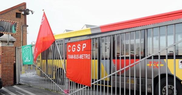 Liège: TEC, SNCB... Voici les services qui seront à l'arrêt à cause de la grève de ce mardi 10 octobre