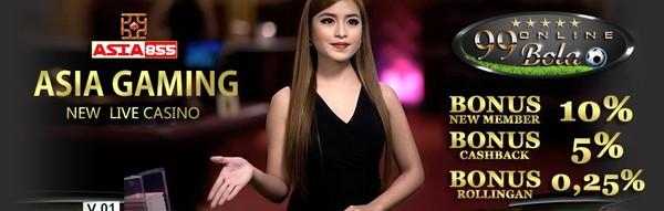 Agen Judi Online Situs Asia 855 Terpercaya | 99 Bola