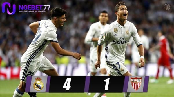 Madrid Hajar Sevilla 5-0 di Bernabeu | Ngebet77.online