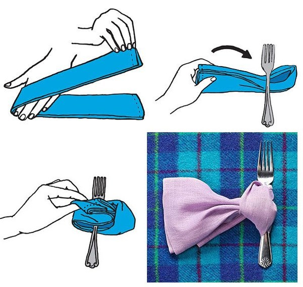 Quite unique tips on pinwheel napkin fold - NICE PLACE TO VISIT