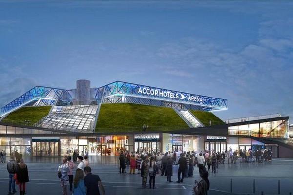 EN IMAGES - Bercy : le POPB devient l'AccorHotels Arena