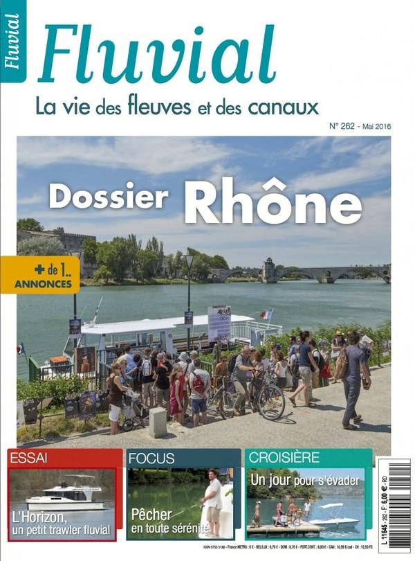Revue Fluvial Vient de paraître Fluvial 262 - Le mai de Fluvial est dans les kiosques et les Maisons de Presse