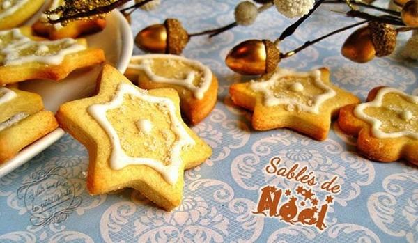 Sablés de Noël avec glace royale : Il était une fois la pâtisserie