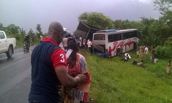 Togo/national N°1, au moins 8 morts et des blessés dans un accident