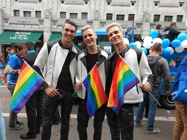 Photos de la Belgian Pride Parade 2018 - LNO
