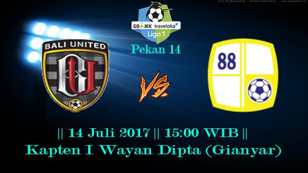 Prediksi Bali United vs Barito Putera 14 July 2017 Liga 1 Indonesia