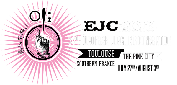 EJC 2013 | 36TH European Juggling Convention | - Toulouse | The Pink City