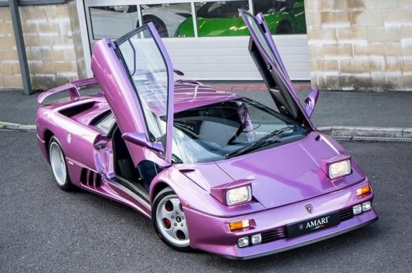 Ultra-Rare Lamborghini Diablo SE30 from Cosmic Girl video up for sale