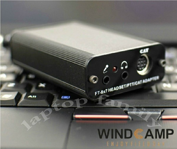 FT-817/FT-857/FT-897 CAT/HEADSET/PTT Adapter