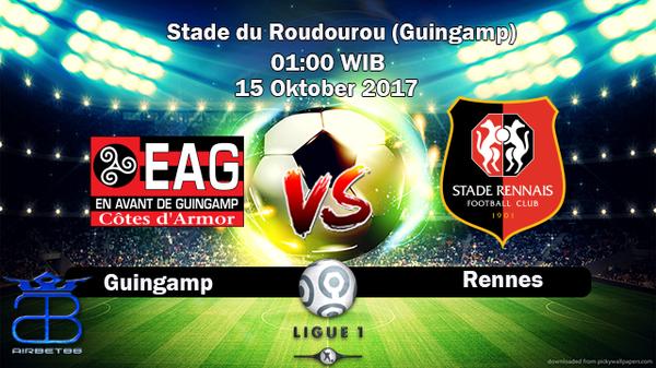 Prediksi Guingamp VS Rennes 15 Oktober 2017   Prediksiskorbolajitu  