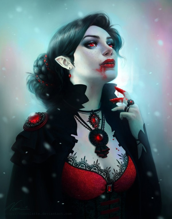 Kiriban - Vampire by Viccolatte on deviantART