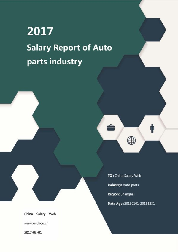Salary reports of auto parts industry 2017
