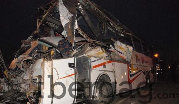 1 mort et 33 blessées dans un accident d'un autocar à Bouskoura - IBERGAG