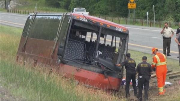 La police de l'État de New York confirme que l'accident mortel du 18 juillet impliquant un autocar de la compagnie Autobus Fleur de Lys n'a pas été causé par un bris mécanique.