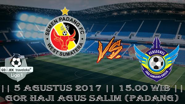Prediksi Semen Padang vs Gresik United 5 Agustus 2017 Liga 1 Indonesia