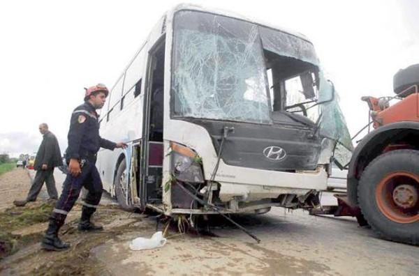 Accident : 33 blessés dans la commune de Sidi-Bouzid   Radio Algérienne