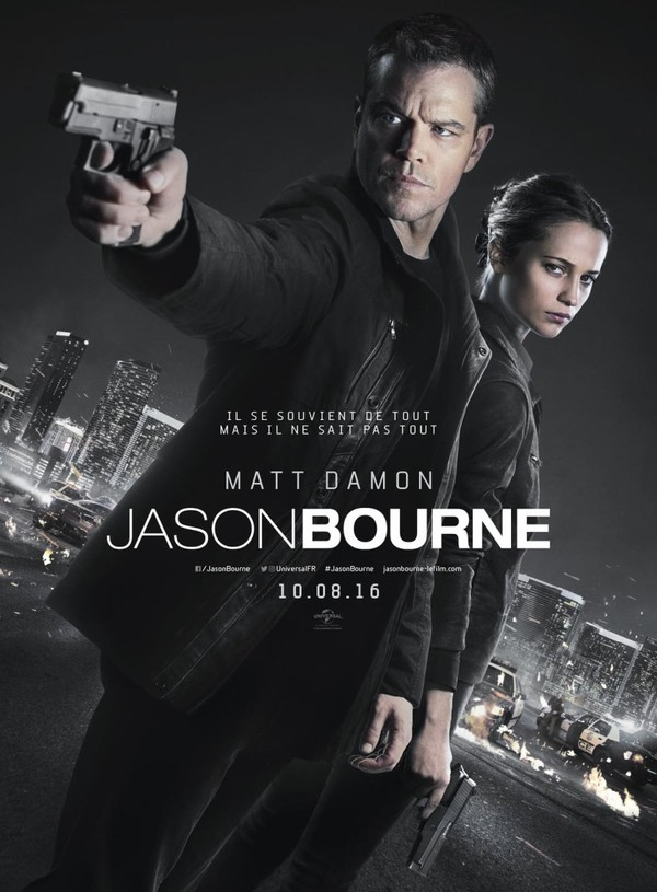 Jason Bourne en streaming.
