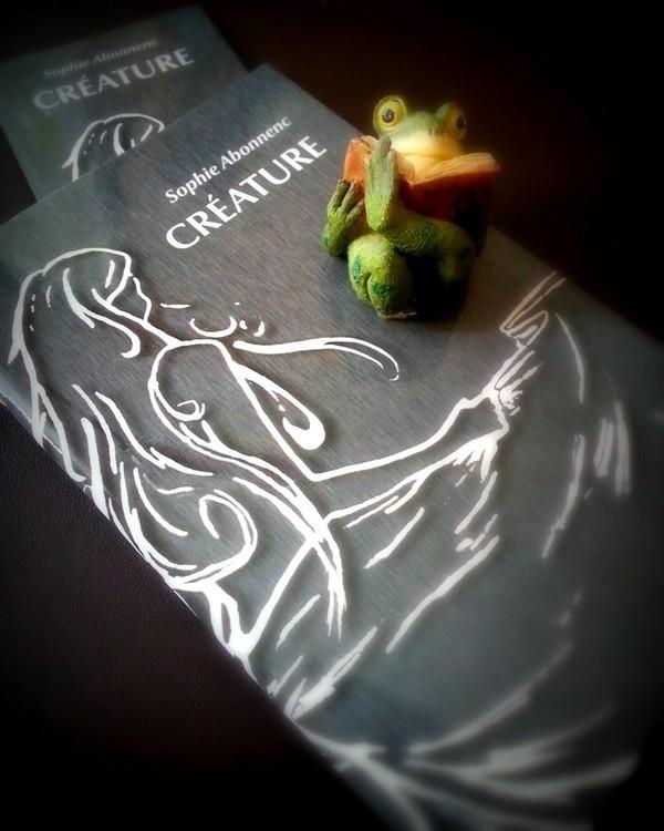 Créature, de Sophie Abonnenc - A l'ombre des nénuphars