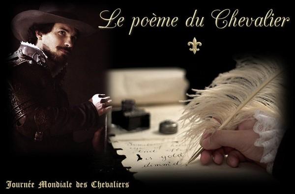 CONCOURS DU POÈME DU CHEVALIER - Journée Mondiale des Chevaliers - Welttag der Ritter - Giornata Mondiale dei Cavalieri - World day of Knights