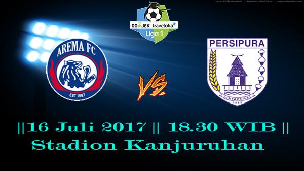 Prediksi Arema vs Persipura 16 July 2017 Liga 1 Indonesia