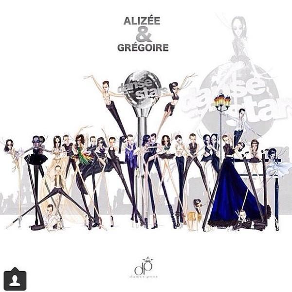.@alizeeofficiel | Merci à @damienpiron pour ces sublimes dessins qui résument mes 9 semaines da... | Webstagram