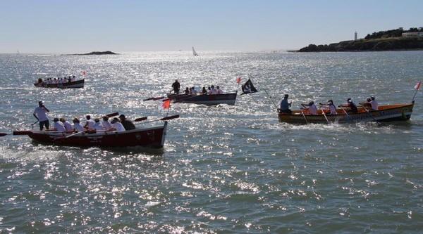 Endurance. Quatre baleinières ont rallié Yeu à Saint-Gilles