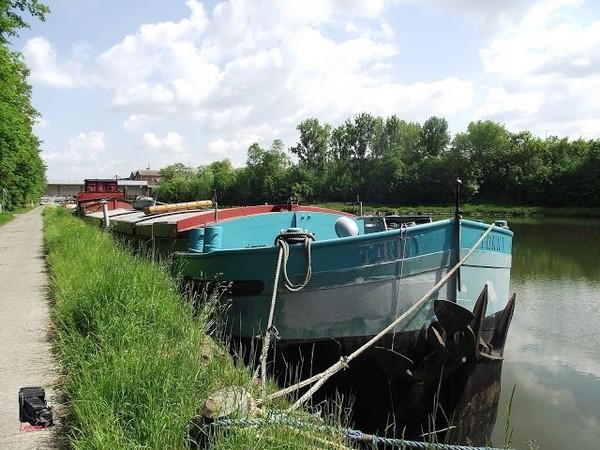 Mes parcours des voies d'eau par Pierre Lemoine: A Clabecq- Oisquercq