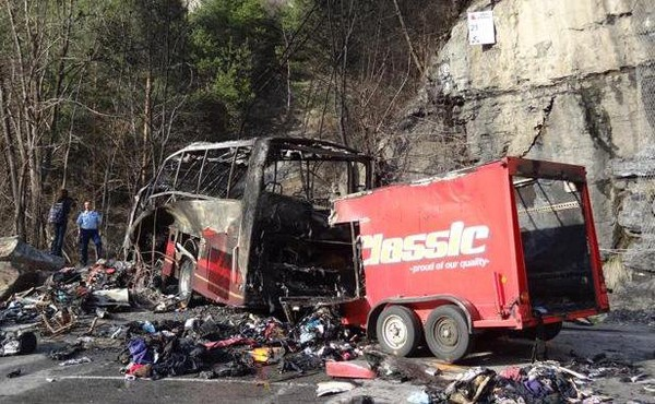 Isère: Un accident de car fait un mort et trois blessés graves