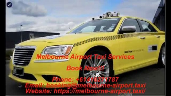 Melbourne Airport Taxi Services - Taxi yellow cab - Streamable