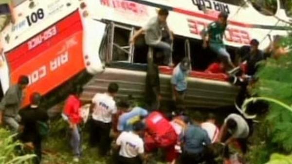 Quarante morts dans un accident de car au nord de Manille