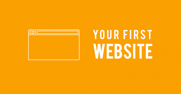 How to build your first website