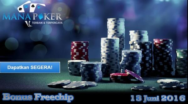 Bonus Freechip Manapoker | Manapoker